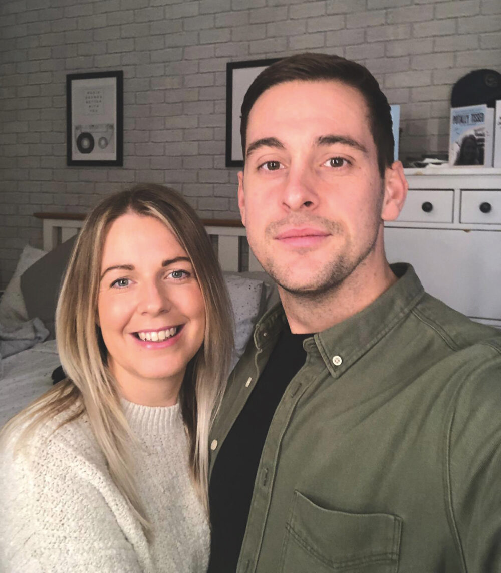 couple who reviewed chosen home's service