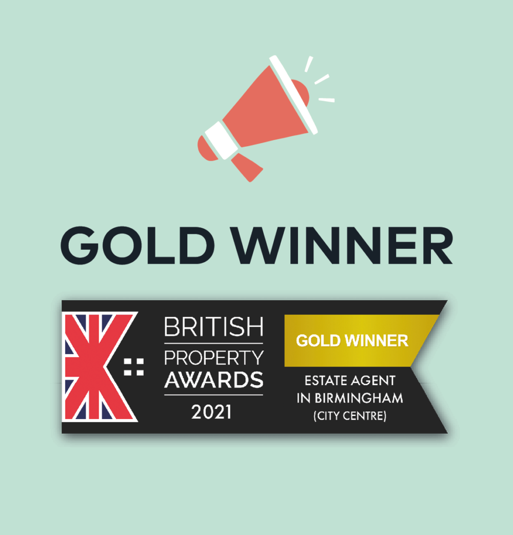 sutton coldfield estate agency graphic for british property awards gold winner 2021