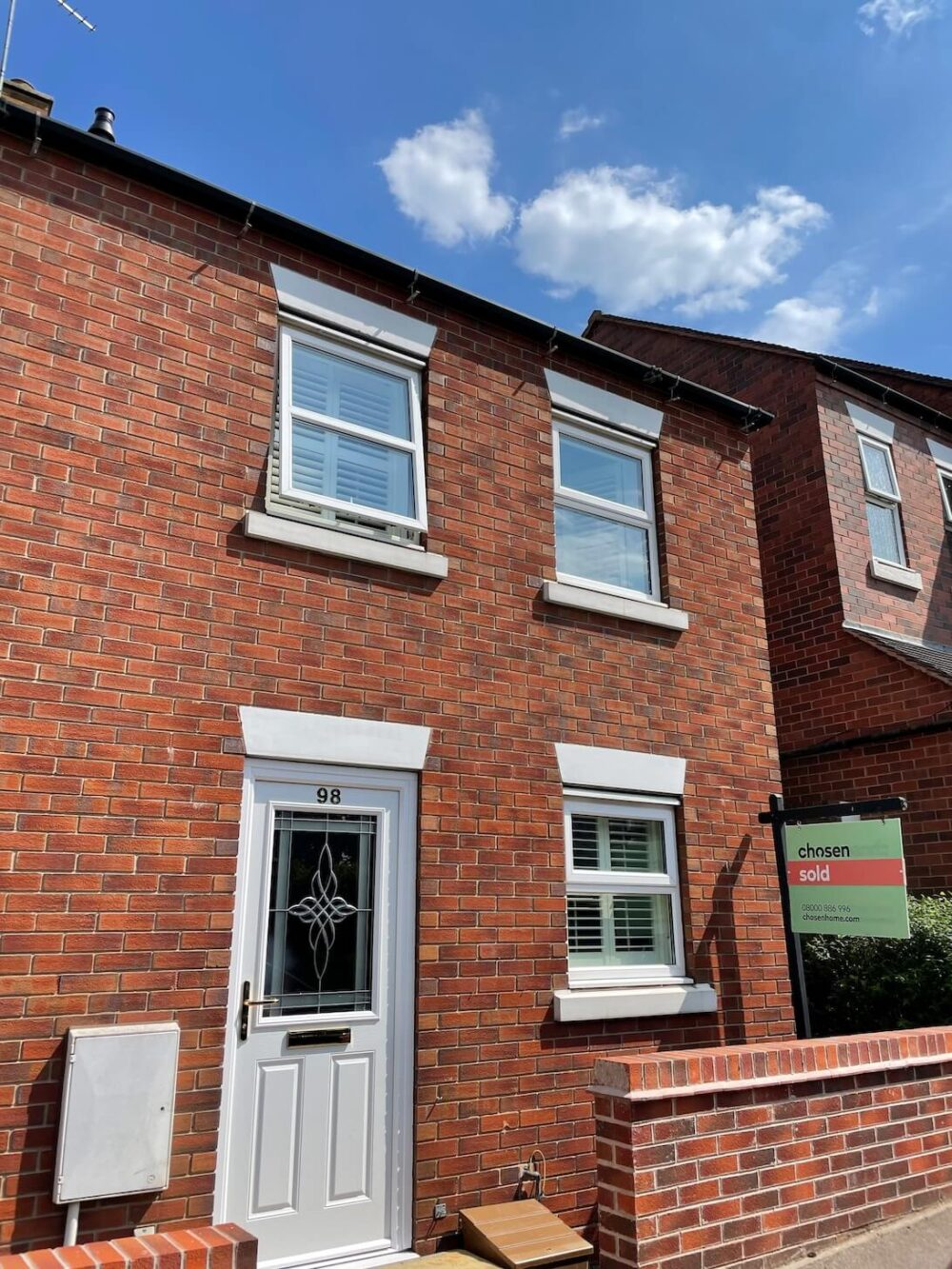 sell your home in sutton coldfield front view of house recently sold